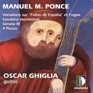 ポンセ: ギター作品集 CD
