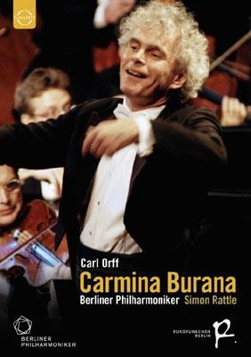 サイモン・ラトル/Orff: Carmina Burana; Beethoven: Leonore Overture No.3; Handel: Messiah - Hallelujah Chorus[2053678]