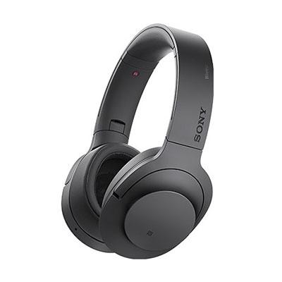 SONY ハイレゾ対応 ヘッドホン h.ear on Wireless NC MDR-100ABN チャコールブラック [MDR100ABNBM]