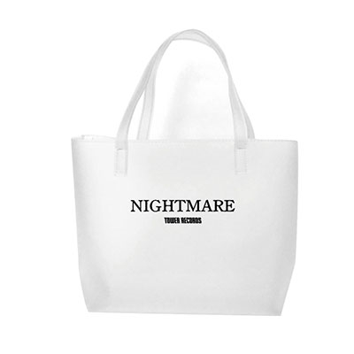 NIGHTMARE (J-Pop)/NIGHTMARE × TOWER RECORDS クリアトートバッグ ブラック[MD01-5884]