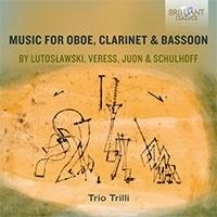 トリオ・トリッリ/オーボエ、クラリネット、バスーンによる室内楽曲集[BRL95688]