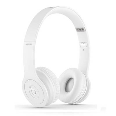 beats by dr.dre Solo HD オンイヤー・ヘッドフォン Matte White