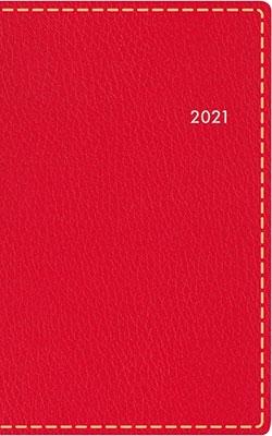 高橋書店 手帳は高橋 T'beau (ティーズビュー) 6 [レッド] 手帳 2021年 手帳判 ウィークリー 皮革調 レッド No.178 (2021年版1月始まり)[9784471801786]