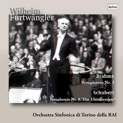 シューベルト: 交響曲第8番「未完成」、ブラームス: 交響曲第1番 CD