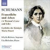 シビッラ・ルーベンス/Schumann: Lied Edition Vol.5 - Frauenliebe und Leben Op.42, Gedichte der Konigin Maria Stuart Op.135, 7 Lieder Op.104 / Sibylla Rubens(S), Uta Hielscher(p)[8557078]