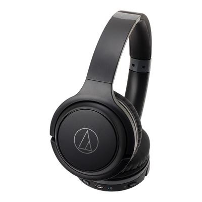 audio-technica ワイヤレスヘッドホン ATH-S200BT ブラック[ATH-S200BTBK]