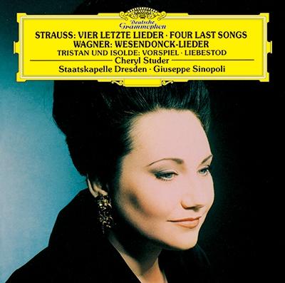 シェリル・ステューダー/R.シュトラウス: 4つの最後の歌/ワーグナー: 「トリスタンとイゾルデ」より前奏曲と愛の死, 他<タワーレコード限定>[PROC-1856]