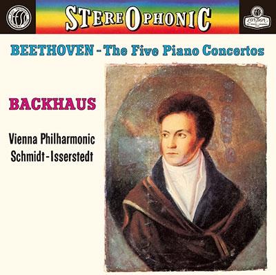 ヴィルヘルム・バックハウス/ベートーヴェン: ピアノ協奏曲全集、序曲集(献堂式、エグモント、レオノーレ第3番) [PROC-2134]