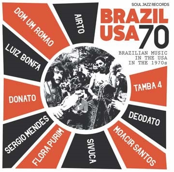 〈Soul Jazz〉から名曲が満載のブラジリアン・コンピ『Brazil USA 70: Brazilian Music in the USA in the 1970s』が登場