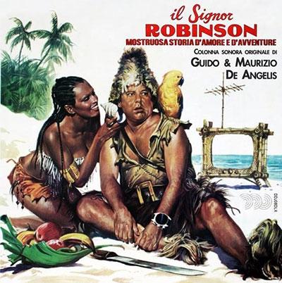 Guido &Maurizio de Angelis/Il Signor Robinson, Mostruosa Storia d'Amore e d'Avventura<限定盤>[DDJ08DLX]