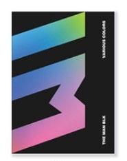 THE MAN BLK/Various Colors: 1st Mini Album[CMCC11310]