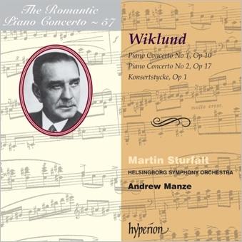 ヴィークルンド: ピアノ協奏曲第1番、第2番~ロマンティック・ピアノ・コンチェルト・シリーズ Vol.57 CD