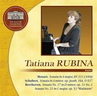 タチアナ・ルービナ/Piano Sonatas - Mozart, Beethoven. Schubert [SMCCD0138]