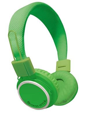 VERTEX 密閉式ダイナミック型ヘッドホン VTH-OH02 Green [VTH-OH02GR]
