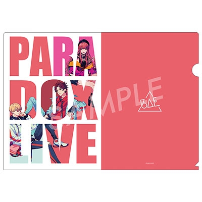 Paradox Live クリアファイル-PRIDE- BAE[APMS-0569]