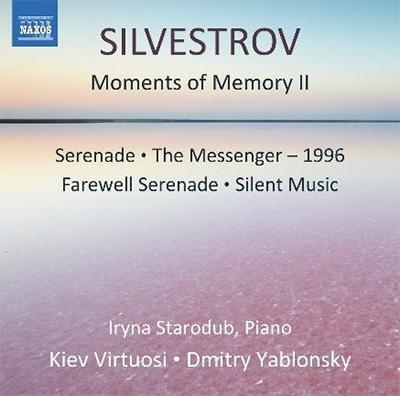 ドミトリ・ヤブロンスキー/Silvestrov: Moments of Memory II[8573598]