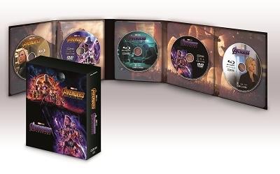 アンソニー・ルッソ/アベンジャーズ/エンドゲーム&インフィニティ・ウォー MovieNEXセット [3Blu-ray Disc+2DVD]<数量限定版>[VWAS-6908]
