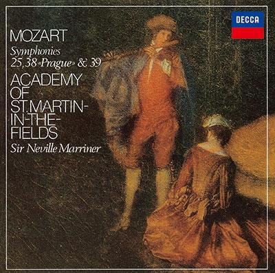 ネヴィル・マリナー/モーツァルト: 交響曲第25番, 第38番「プラハ」, 第39番<タワーレコード限定>[PROC-1764]