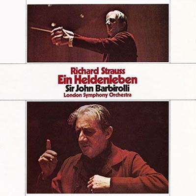 ジョン・バルビローリ/R.シュトラウス: 交響詩「英雄の生涯」、「ばらの騎士」 - ワルツ・シークェンス(バルビローリ編)<タワーレコード限定>[TDSA-163]