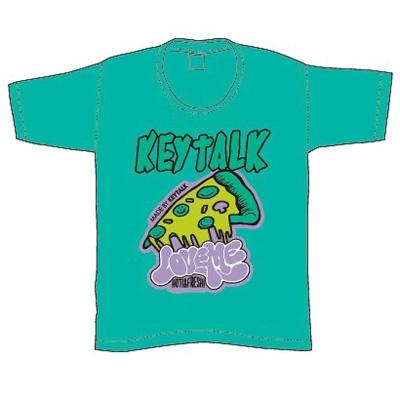 KEYTALK PIZZA T-Shirt(グリーン)/XLサイズ [4997184976718]