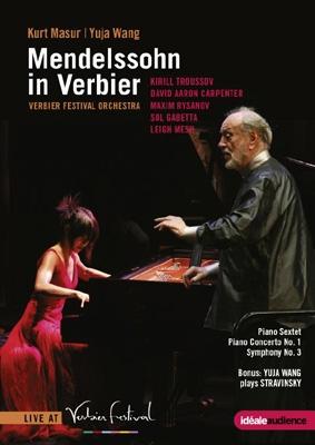 Mendelssohn in Verbier - Piano Sextet Op.110, Piano Concerto No.1, etc DVD