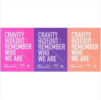 Cravity Season1 Hideout: Remember Who We Are (ランダムバージョン) CD