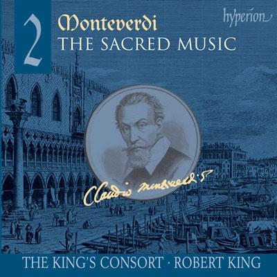 ロバート・キング (Conductor)/Monteverdi: Sacred Music Vol 2 / Robert King, King's Consort[CDA67438]