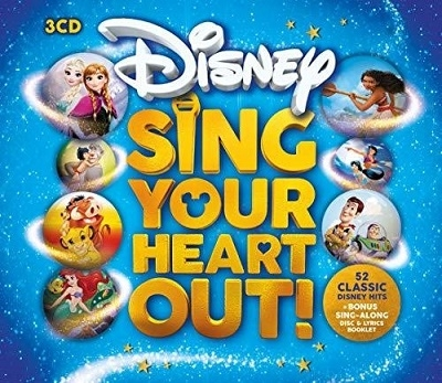 Sing Your Heart Out Disney CD