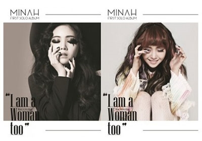 Minah (Girl's Day)/ I Am A Woman Too: 1st Mini Album (ランダムバージョン)[GDMN-001]