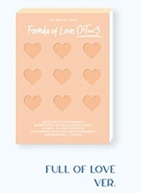 [Formula of Love: O+T=<3]: TWICE Vol.3 (FULL OF LOVE ver) CD