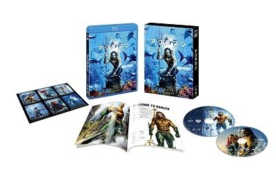 ジェームズ・ワン/アクアマン [Blu-ray Disc+DVD]<初回仕様版/ブックレット&キャラクターステッカー付>[1000744568]