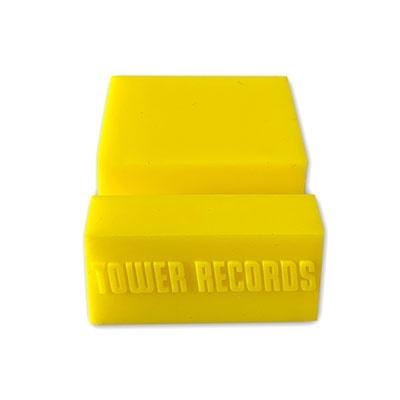 タワレコ (スマホにも使える)CDスタンド Yellow Accessories