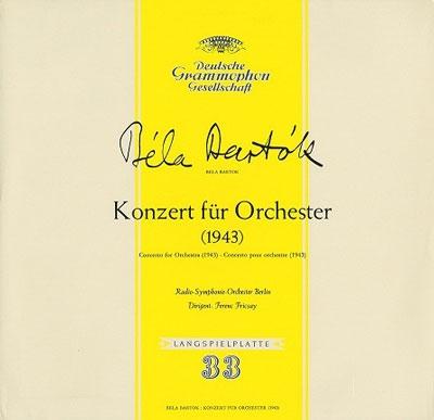 フェレンツ・フリッチャイ/バルトーク: 管弦楽のための協奏曲, 弦楽器・打楽器とチェレスタのための音楽, 他<タワーレコード限定>[PROC-1300]