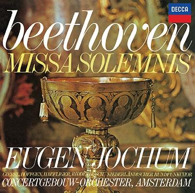オイゲン・ヨッフム/ベートーヴェン: ミサ・ソレムニス<タワーレコード限定>[PROC-2021]