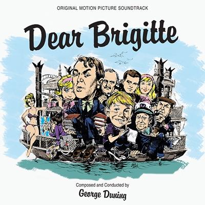 George Duning/Dear Brigitte / Mr.Hobbs Take a Vacation<初回生産限定盤>[KR200228]