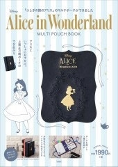 Disney Alice in Wonderland MULTI POUCH BOOK[9784299001689]