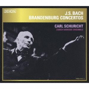 カール・シューリヒト/J.S.バッハ:ブランデンブルク協奏曲(全曲) [TWSA-1012]