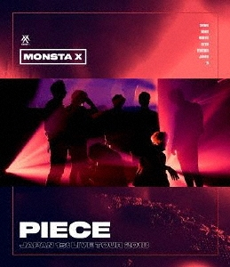 "MONSTA X, JAPAN 1st LIVE TOUR 2018 ""PIECE"" Blu-ray Disc"