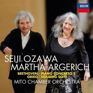 ベートーヴェン:ピアノ協奏曲第2番 モーツァルト:ディヴェルティメントK136~第1楽章 グリーグ:組曲≪ホル UHQCD