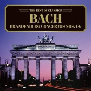 ケルン室内管弦楽団/ベスト・オブ クラシックス 59::バッハ:ブランデンブルク協奏曲第4、5、6番[AVCL-25659]