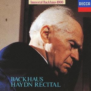 ヴィルヘルム・バックハウス/不滅のバックハウス1000: バックハウス・ハイドン・リサイタル<限定盤>[UCCD-9170]