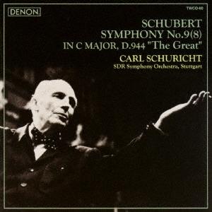 カール・シューリヒト/シューベルト:交響曲第9(8)番≪ザ・グレイト≫<タワーレコード限定>[TWCO-60]