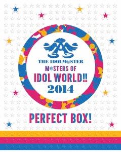 THE IDOLM@STER M@STERS OF IDOL WORLD!! 2014 �gPERFECT BOX!�h(���S���Y�����)[LABX-38070/4][Blu-ray/�u���[���C]