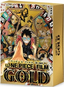 宮元宏彰/ONE PIECE FILM GOLD GOLDEN LIMITED EDITION [Blu-ray Disc+DVD]<初回生産限定版>[PCXP-50455]