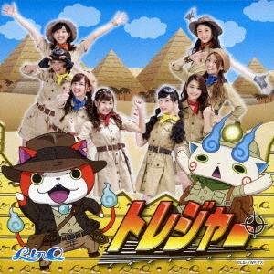 LinQ/トレジャー (妖怪ウォッチver.) [CD+DVD][AVCD-55152B]