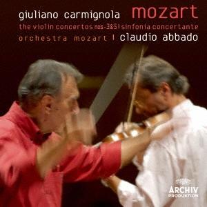 モーツァルト:ヴァイオリン協奏曲第3番・第5番≪トルコ風≫ 協奏交響曲K364<生産限定盤>
