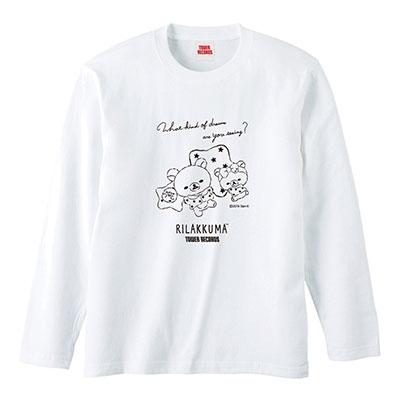 Rilakkuma × TOWER RECORDS コラボロングT-shirts 2019 Winter Mサイズ Apparel