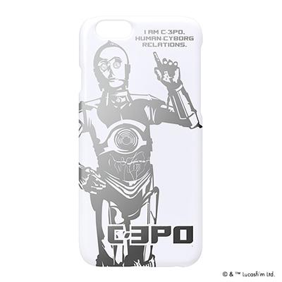 STARWARS iPhone 6用 ハードケース 銀箔押し C-3PO [PG-DCS929C3]
