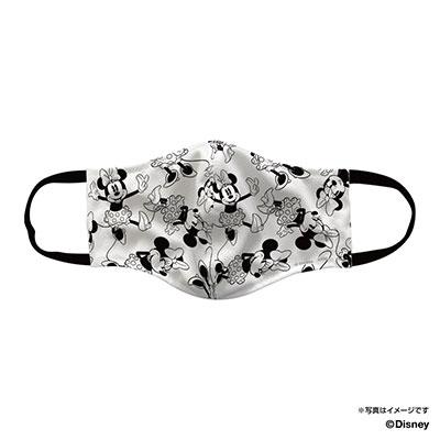 マスク(ミニーマウス/ホワイト) S-M
