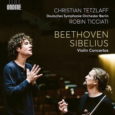 クリスティアン・テツラフ/ベートーヴェン&シベリウス: ヴァイオリン協奏曲集[ODE1334]
